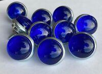 Bicycle reflectors jewels TEN BLUE Schwinn Harley J.C Higgins  Rack reflectors
