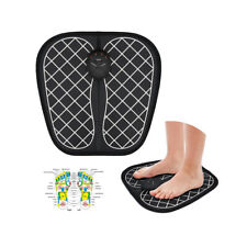 Electric EMS Foot Massager Feet Muscle Stimulator Pain Relief Pad Mat