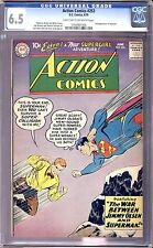 ACTION COMICS  #253 CGC 6.5 2ND APPEARANCE OF SUPERGIRL! SCARCE