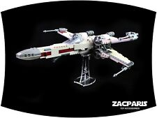 DISPLAY STAND for Lego 75218  X-Wing Starfighter - Clear acrylic!