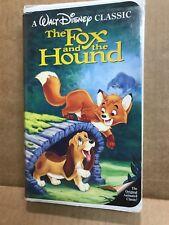 Disney classic The Fox and the Hound black diamond edition