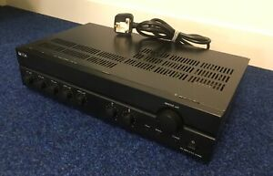 TOA A-2060 Mixer Amplifier 100V 60W Commercial PA 3 Mic 2 Aux