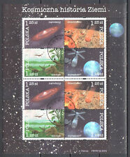 Poland 2004 - History of the Earth - Mi 4162-4165 sheet - used