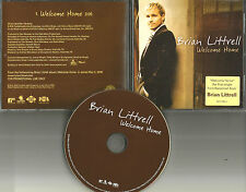 Backstreet Boys BRIAN LITTRELL Welcome Home PROMO Radio DJ CD single 2006 USA