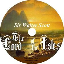 The Lord of the Isles, Sir Walter Scott Scotish Freedom Audiobook on 1 MP3 CD