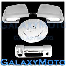 07-13 TOYOTA TUNDRA CREW MAX Chrome Mirror+Tailgate+Camera Handle+Gas Cover