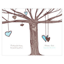 Heart Strings Personalized Wedding Programs 24/pk