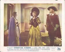 FOREVER AMBER LINDA DARNELL CORNEL WILDE LOBBY CARD #C4
