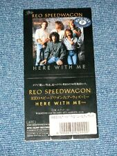 """REO SPEEDWAGON Japan 1988 Tall 3"""" CD Single HERE WITH ME"""
