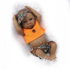 "Reborn Baby Dolls 10"" Lifelike Soft Vinyl RealLife Looking Boy Doll Newborn"