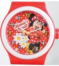 Disney Minnie Mouse: Jumbo Watch Wall Clock