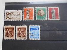 Sellos de correos Polonia Polska 1955 mi-nº 948 - 951, 952 - 953 + adición con sello