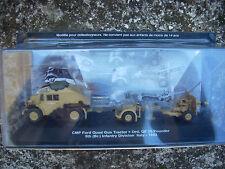 "DIE CAST TANK "" CMP FORD QUAD GUN TRACTOR + ORD. QF25 - 1943 ""  SCALA 1/72 (n51)"