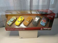 DISNEY PIXAR CARS THUNDER HOLLOW DEMO DERBY5-PACK SET DIECAST VEHICLE NEW IN BOX