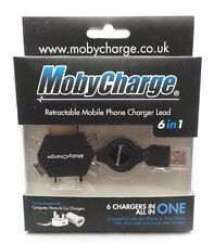Mobycharge 6 in 1 Cellulare Charge Sync Cavo USB iPhone 3 4 IPAD ANDROID