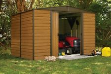 Outdoor Storage Shed Steel Utility Sheds Backyard Garden Building Lawn 10 x 12