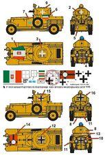 Peddinghaus 1/35 British Armoured Car DAK and Italian Markings WWII (Roden) 1838