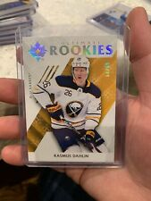 18-19 UD ULTIMATE COLLECTION ROOKIE RASMUS DAHLIN RC 64/99 SABRES
