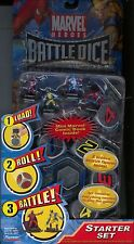 Marvel Heroes Battle Dice Starter Set MINT Battledice