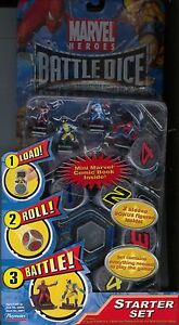 Marvel Heroes Battle Dice Starter Set MINT Battledice