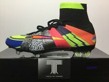 "Nike Mercurial Superfly SE FG ""What The"" 835363 007 ~ U.K Size 10.5 ~ Euro 45.5"