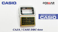 CAJA/CASE CENTER  CASIO DBC-600  NOS