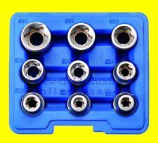 BGS 6425 Satz TORX E10-E24 E-Profil Aussen Stecknüsse TX Schrauben Nuss Außen