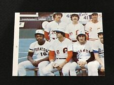 1976 ALL STAR GAME TOPPS NL MIKE SCHMIDT / AL OLIVER ODD BALL BASEBALL CARD