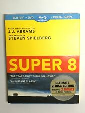 Super 8 (Blu-ray movie) new sealed, 2 disc edition J.J. Abrams Steven Spielberg