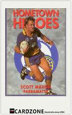 1994 Dynamic Rugby League Series 1 Hometown Heroes #15 Scott Mahon PARRAMATTA