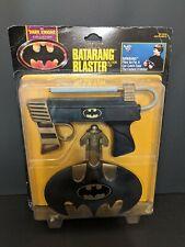 Vintage Kenner Batman Dark Knight Collection Batarang Blaster Action Toy 1990