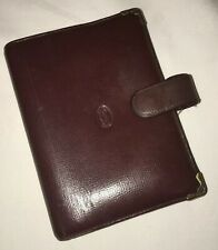 Vintage Cartier Leather Organiser Filofax