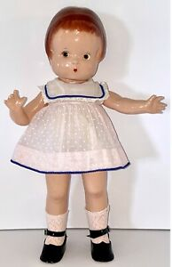 """Vintage  Effanbee 14"""" Composition """"Patsy Doll"""" With Vintage Clothing & Shoes"""