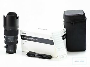 Sigma ART 50-100mm F/1.8 DC HSM Objektiv Canon Lens
