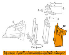 Chevrolet GM OEM 16-18 Camaro Radiator-Rear Duct Left 84027001