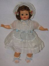 "16"" Vintage Rubber/Oil Cloth Body Ideal Baby Doll"
