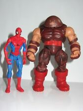 Marvel universo figura de juguete conjunto Hombre Araña Vs Juggernaut (Hasbro)