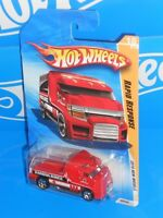 Hot Wheels 2010 New Models #18 Rapid Response Red w/ 5SPs