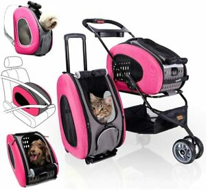 ibiyaya 5-in-1 Pet Carrier with Backpack, Car Seat