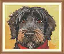 SCOTTISH TERRIOR CROSS STITCH CHART 12.0 X 9.9Inches