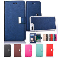 Detachable Magnet Leather Wallet Removable Flip Case Cover For iPhone 8 7 Plus X