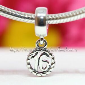 Authentic Pandora Sweet 16 Dangle Charm #790494