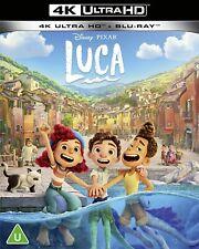 Disney Pixar Luca 2021 4K Ultra HD High Definition UHD + Blu-ray (New Sealed 4K)