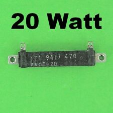 47 Ohm 20W 2% Wirewound Power Resistor Perfect Load for 12V Battery & Adapter s