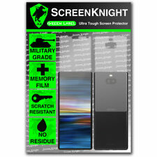 ScreenKnight Sony Xperia 10 PLUS FULL BODY SCREEN PROTECTOR - Military Shield