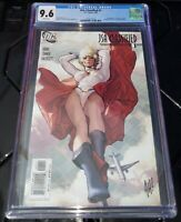 JSA: Classified #1 CGC 9.6 White Pages DC 2005 Adam Hughes Cover Variant