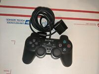 Sony DualShock PS2 Controller (SCPH-10010) Playstation 2- Black