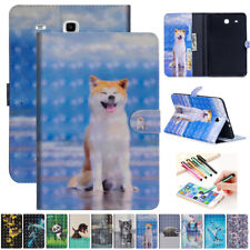 """For Samsung Galaxy Tab E A S2-S4 7"""" 8"""" 9.6 10.1 Tablet Magnetic Case Stand Cover"""