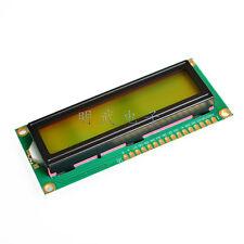 1602 162 16x2 Character LCD Display Module HD44780 Controller Yellow Blacklight