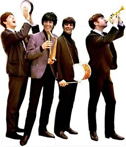 "Beatles 78"" Tall Life Size Cardboard Cutout Standee"
